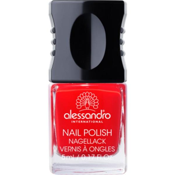 ALESSANDRO Nail Polish Classic Red
