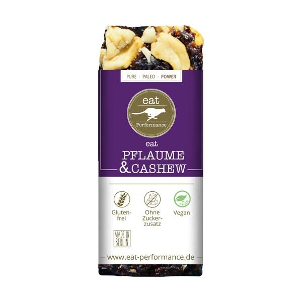 EAT PERFORMANCE Riegel Pflaume und Cashew
