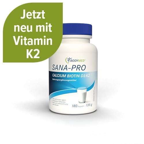 Bodymed SANA PRO Calcium Biotin D3 180