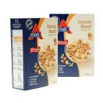 Atkins Proteinmüsli Crunchy Muesli mit Stevia Extrakt