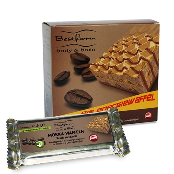 Bodymed Bestform-Waffel Mokka