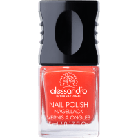 Alessandro Nail Polish Orange Red