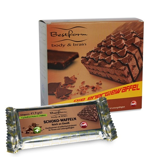 Bodymed BESTFORM Die Eiweißwaffel Schokolade