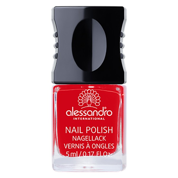 Alessandro Nail Polish Ruby Red