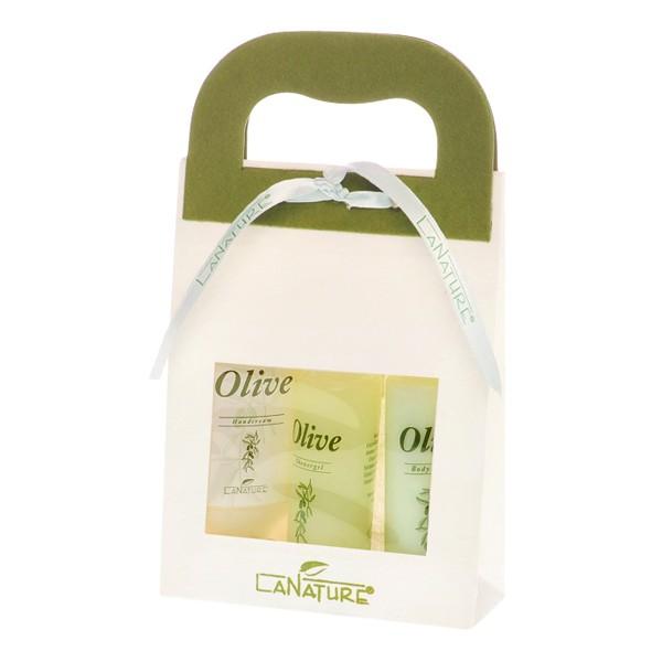 LaNature Geschenkset klein Olive
