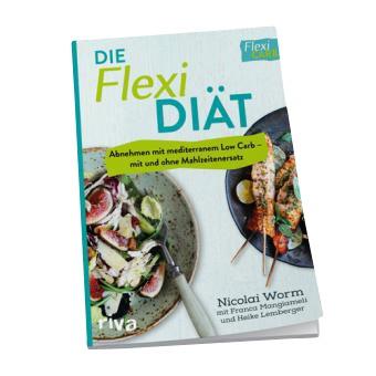 Buch Die Flexi DIÄT - Abnehmen mit mediterranem Low Carb