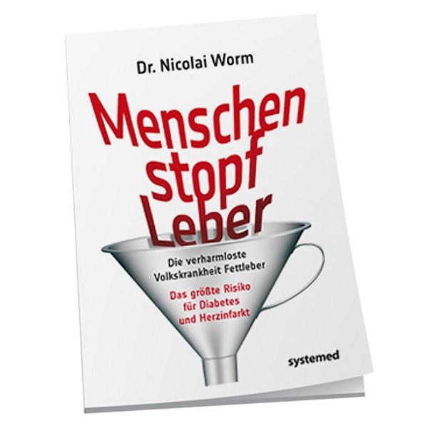 Buch Dr. Nicolai Worm Menschen Stopf Leber