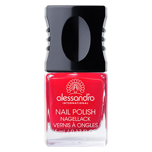 ALESSANDRO Nail Polish Berry Red