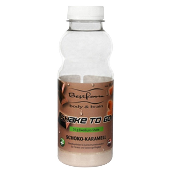 Bodymed Bestform Shake to go Schoko-Karamell