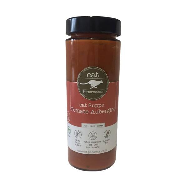 EAT PERFORMANCE Suppe Tomaten Aubergine