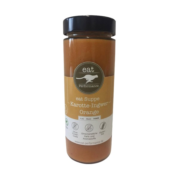 Eat Performance eat Suppe Karotte-Ingwer-Orange