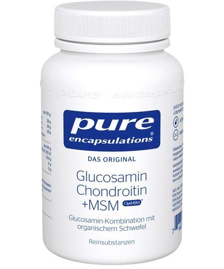 PURE ENCAPSULATIONS Glucosamin Chondroitin + MSM